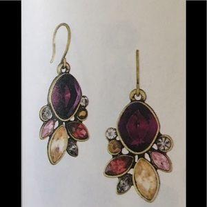 Bouquet rouge drop earrings